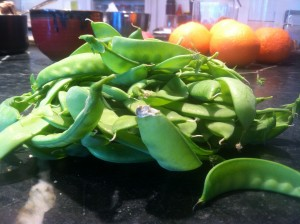 Peas-a-plenty