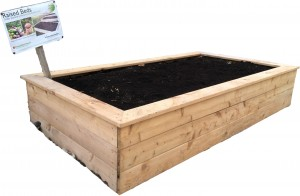 Garden bed at Whole Earth